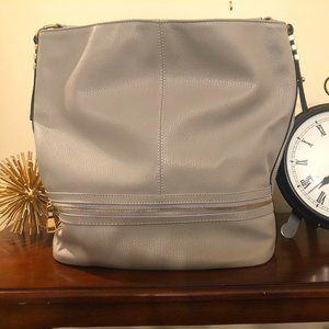Gray Tote/Bucket Bag